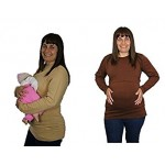 Maternity Breastfeeding Long Sleeve Top